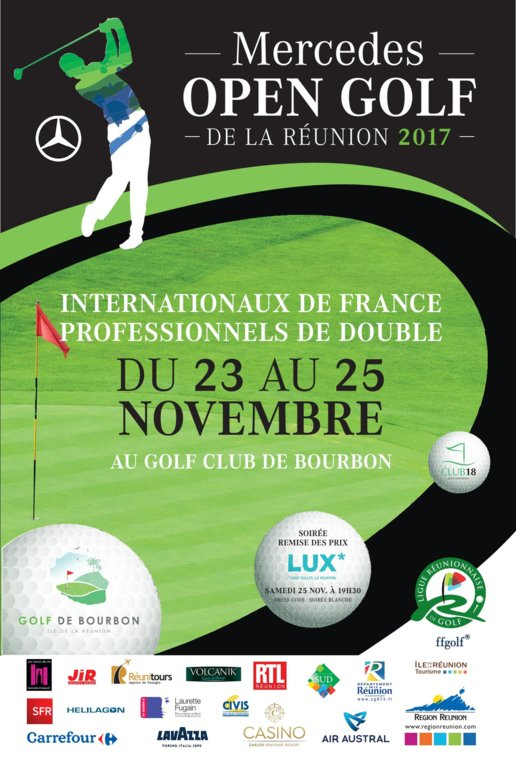 MERCEDES OPEN GOLF DE LA REUNION 2017 CONFERENCE DE PRESSE A BOURBON
