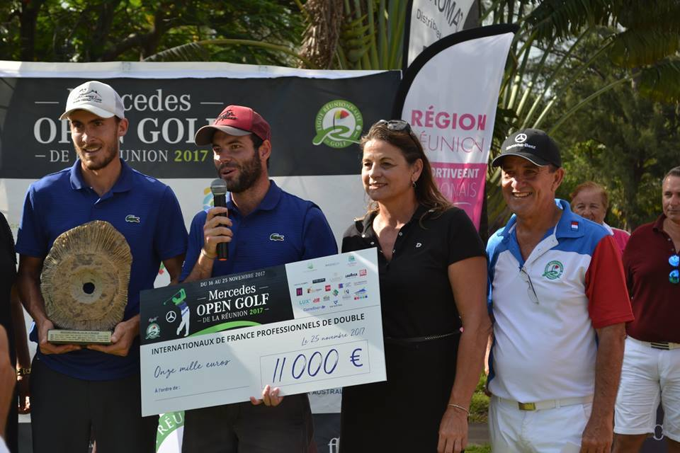MERCEDES OPEN GOLF DE LA REUNION 2017 IFPD RESULTAT FINAL 25/11 GCB