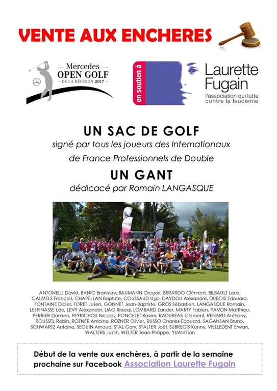MERCEDES OPEN GOLF DE LA REUNION 2017 ASSOCIATION LAURETTE FUGAIN