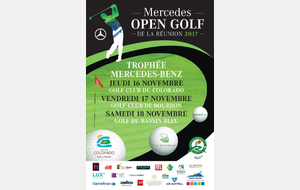 Mercedes Open Golf de La Réunion 2017 TMB Amateurs