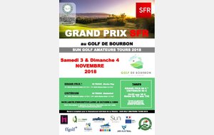 GRAND PRIX SFR 2018 (CHAMPIONNAT INDIVIDUEL DE LA REUNION -- SUN GOLF AMATEURS TOURS)