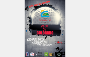 OPEN DU COLORADO 2018 les 26, 27 et 28 OCTOBRE DEPARTS MINI-CRITERIUM