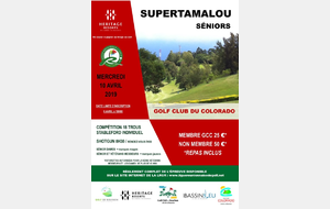 SUPERTAMALOU AU COLORADO MERCREDI 10 AVRIL 2019